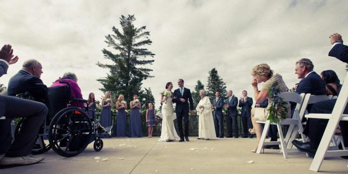 Tenaya Lodge Wedding Terrace Patrick Pike