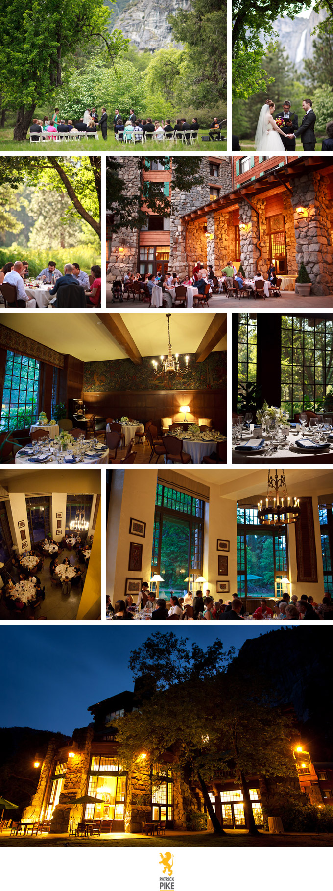 Weddings at the Ahwahnee Hotel in Yosemite