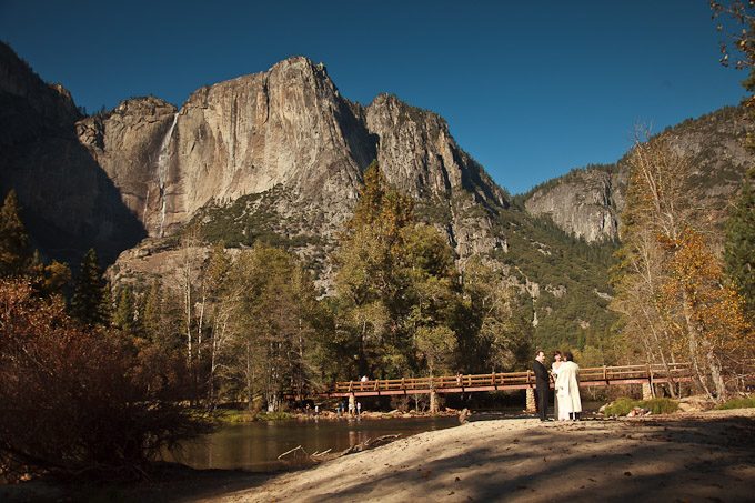 Lisa and Roger elope in Yosemite Valley