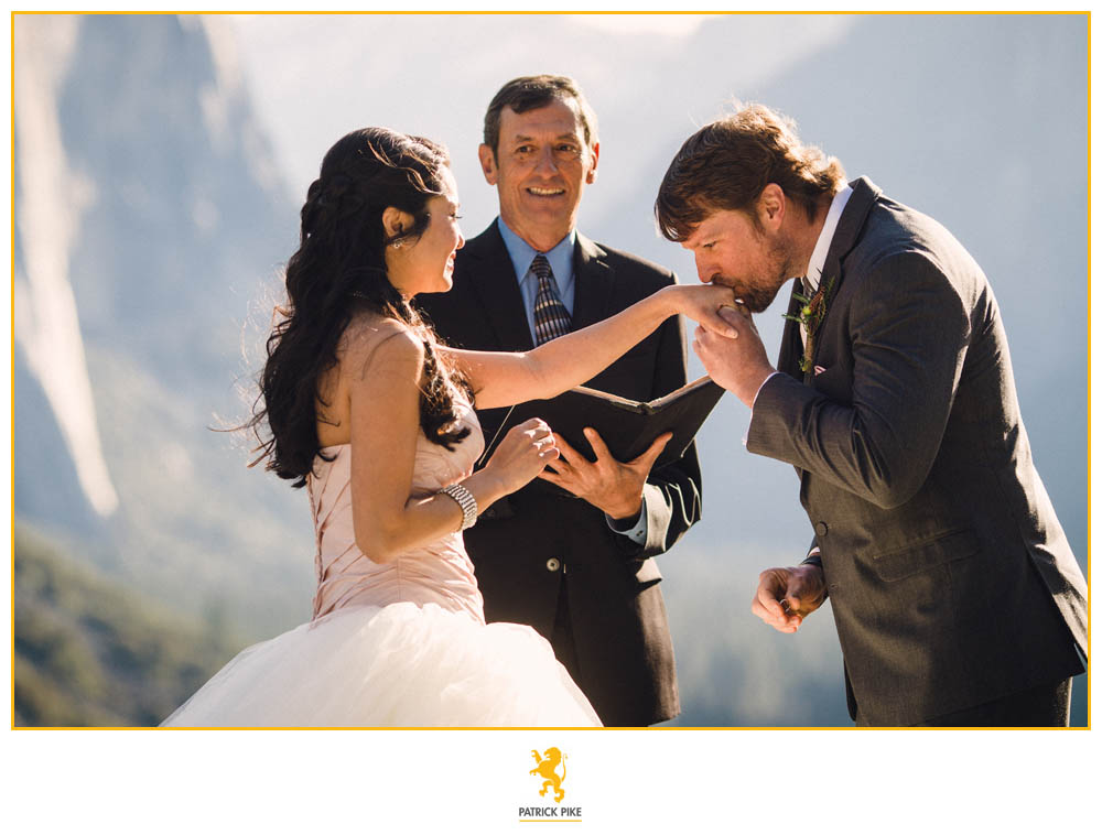 Yosemite Elopement at Tunnel View