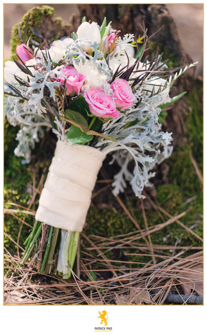 Yosemite Elopement flowers by AddyRose Designs.