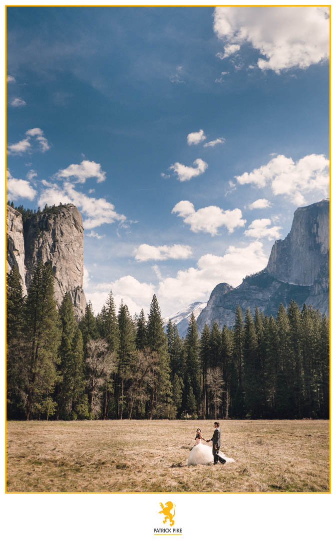 Yosemite Elopement under Half Dome