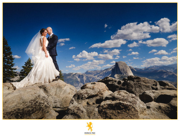 Glacier Point Elopement with Shannon and Jsaon